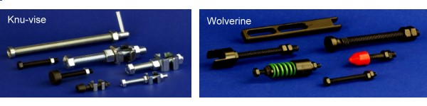 Knu-vise and Wolverine Accessories