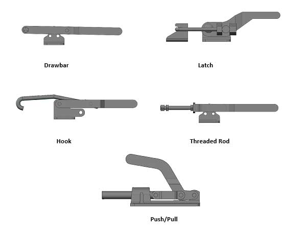 Linear Action Clamps